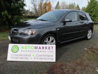 Used 2009 Mazda MAZDA3 SPORT GT, AUTO, LOADED, INSP, BCAA MBSHP, WARR, FINANCING! for sale in Surrey, BC