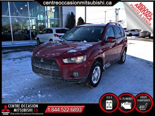 Used 2011 Mitsubishi Outlander 4X4 V6 3500LBS REMORQUAGE for sale in St-Jérôme, QC