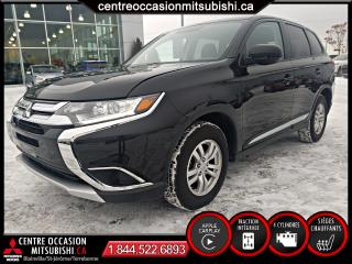 Used 2018 Mitsubishi Outlander ES AWC APPLE CARPLAY CAMERA for sale in St-Jérôme, QC