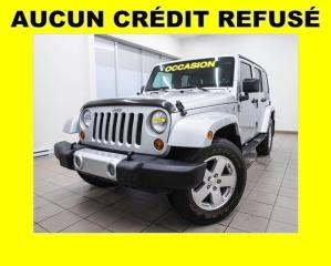 Used 2008 Jeep Wrangler SAHARA 4X4 CLIMATISEUR *GROUPE 2 TOITS* for sale in Mirabel, QC