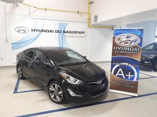 Used 2016 Hyundai Elantra GLS/TOIT/MAGS GARANTIE for sale in Jonquière, QC