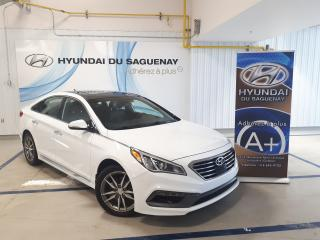Used 2016 Hyundai Sonata 2.0T Sport for sale in Jonquière, QC