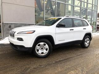 Used 2014 Jeep Cherokee SPORT 4X4 GARANTIE 47$/Sem for sale in Ste-Agathe-des-Monts, QC