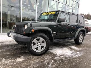 Used 2010 Jeep Wrangler SAHARA UNLIMITED 4x4 70$/Sem for sale in Ste-Agathe-des-Monts, QC