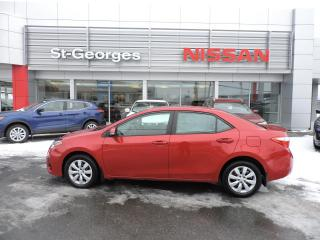 Used 2016 Toyota Corolla Berline 4 portes CVT S for sale in St-Georges, QC