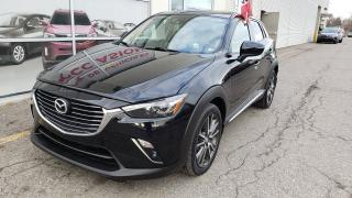 Used 2017 Mazda CX-3 GT AWD Traction integrale, cuir, navigation, toit ouvrant for sale in Montréal, QC