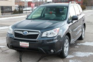Used 2014 Subaru Forester 2.5i Touring Package AWD | Heated Seats | Sunroof | CERTIFIED for sale in Waterloo, ON