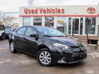 Used 2016 Toyota Corolla 4dr Sdn CVT LE for sale in North York, ON