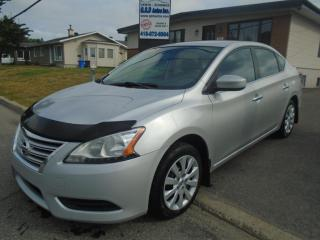 Used 2013 Nissan Sentra for sale in Ancienne Lorette, QC