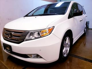 Used 2011 Honda Odyssey Touring 8 PASSENGER|LEATHER SEATS|SUNROOF|POWER DOORS|CERTIFIED for sale in Concord, ON