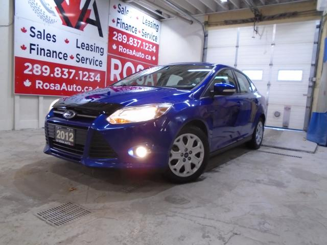 2012 Ford Focus AUTO 4CYL GAS SAVER SUNROOF NO ACCIDENT REMOTE STA