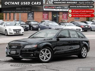 Used 2009 Audi A4 2.0T Avant Wagon! Accident Free! Comes Certified & Warranty! for sale in Scarborough, ON