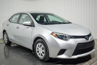 Used 2015 Toyota Corolla Ce A/c Bluetooth for sale in St-Hubert, QC