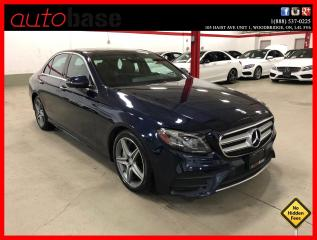Used 2017 Mercedes-Benz E-Class E300 4MATIC HUD PREMIUM TECHNOLOGY BURMESTER AMG for sale in Vaughan, ON