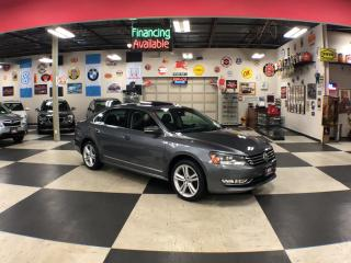 Used 2014 Volkswagen Passat 1.8 TSI HIGHLINE AUT0  LEATHER SUNROOF CAMERA for sale in North York, ON