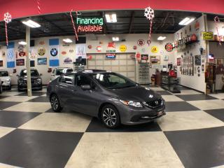 Used 2015 Honda Civic Sedan EX AUT0 A/C SUNROOF BACKUP CAMERA BLUETOOTH 52K for sale in North York, ON