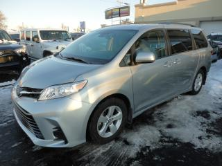 Used 2019 Toyota Sienna LE 8 Pass Nav Portes Elec Camera a vendr for sale in Laval, QC