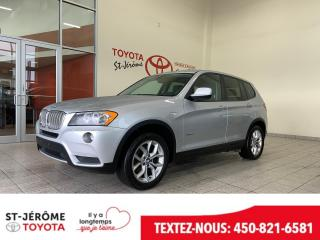Used 2014 BMW X3 * AWD * XDRIVE 28I * MAGS * CUIR * for sale in Mirabel, QC