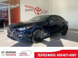 Used 2014 Mazda MAZDA3 * TOIT * MAGS * AUTOMATIQUE * for sale in Mirabel, QC