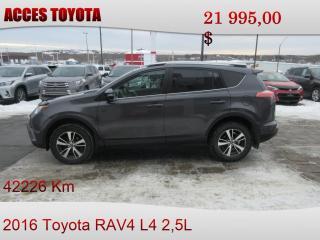 Used 2016 Toyota RAV4 42000km for sale in Rouyn-Noranda, QC