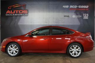 Used 2010 Mazda MAZDA6 GT 2.5L 6 VITESSES CUIR TOIT AUDIO BOSE 127 705 KM for sale in Lévis, QC