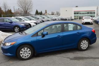 Used 2012 Honda Civic LX ** Démarreur ** for sale in Longueuil, QC