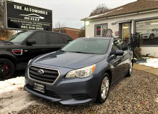 Used 2016 Subaru Legacy 2.5I AWD BACK-UP CAM BLUETOOTH for sale in Mississauga, ON