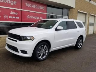 New 2020 Dodge Durango GT AWD / Sunroof / GPS Navigation for sale in Edmonton, AB