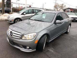 Used 2010 Mercedes-Benz C-Class c 250 4matic for sale in Burlington, ON
