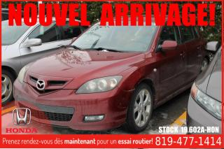 Used 2008 Mazda MAZDA3 Sport GS+MAG+A/C+SIEGCHAUFF+REGVIT for sale in Drummondville, QC