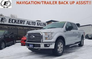 Used 2017 Ford F-150 XLT XTR/NAVIGATION/TRAILER BACK UP ASSIST!! for sale in Barrie, ON