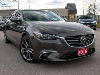 Used 2016 Mazda MAZDA6 GT 4dr Sedan W/NAVI for sale in Brantford, ON
