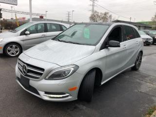 Used 2013 Mercedes-Benz B-Class B 250 Sports Tourer NAV for sale in Burlington, ON