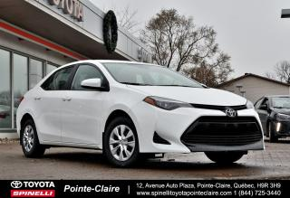 Used 2019 Toyota Corolla CE PKG for sale in Pointe-Claire, QC