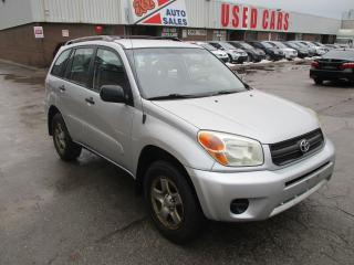 Used 2005 Toyota RAV4 4WD~AUTOMATIC~CERTIFIED!!! for sale in Toronto, ON