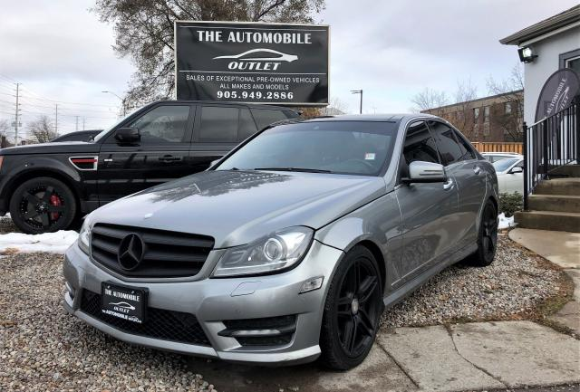 2012 Mercedes-Benz C350 C 350 4MATIC PANO LOADED NAVI BACK-UP NO ACCIDENT