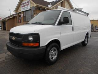 Used 2008 Chevrolet Express 1500 CARGO 4.3L V6 Ladder Rack Divider 142,000KMs for sale in Rexdale, ON