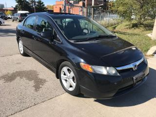 Used 2008 Honda Civic 144km,manual,SAFETY+3 YEARS WARRANTY INCLUDED for sale in Toronto, ON