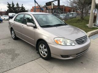 Used 2003 Toyota Corolla SHIPPER'S SPECIAL,AUTO,P/WINDOWS,$2600 for sale in Toronto, ON