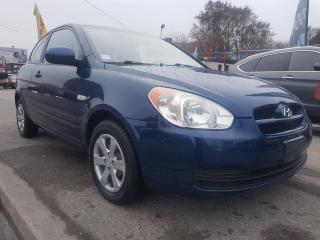 Used 2010 Hyundai Accent GL-MINT-128K ONLY-WINTER TIRES-GAS SAVER-AUX for sale in Scarborough, ON
