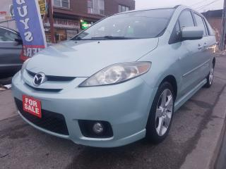 Used 2006 Mazda MAZDA5 GS-MINT- ONLY 133KM-SUNROOF-6 SEATS-4 CYL-ALLOYS for sale in Scarborough, ON
