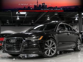 Used 2014 Audi A6 TDI|S-LINE|TECHNIK|BLINDSPOT|NAVI|360 CAM|PUSHSTART for sale in North York, ON