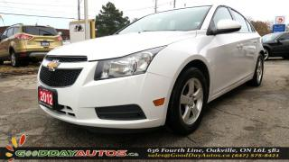 Used 2012 Chevrolet Cruze LT Turbo+ w/1SB  |LOW KM|NO ACCIDENT|SUNROOF|CERT. for sale in Oakville, ON
