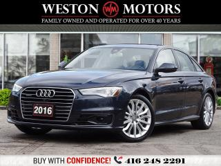 Used 2016 Audi A6 2.0T*A6*LEATHER*REV CAM*NAVI*SUNROOF*LANE ASSIST!* for sale in Toronto, ON