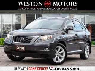 Used 2010 Lexus RX 350 LEATHER*SUNROOF*HEATED SEATS*NAVI*PUSH TO START!!* for sale in Toronto, ON