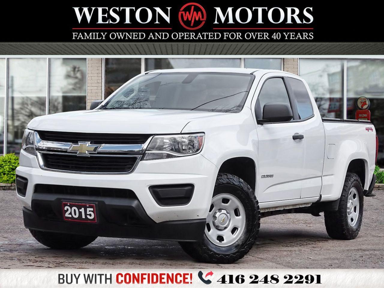 2015 Chevrolet Colorado V6*4WD*EXT CAB*REV CAM!!*