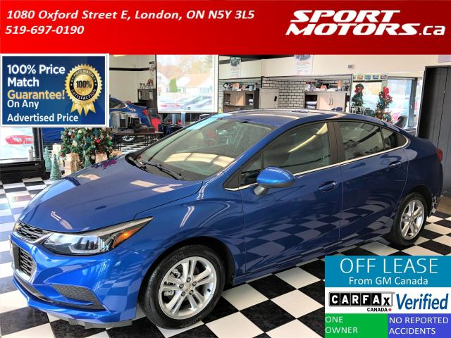 2016 Chevrolet Cruze LT+Apple+Android Play+HTD Seats+Camera+New Brakes