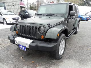 Used 2011 Jeep Wrangler UNL SAHARA 4WD for sale in Windsor, ON