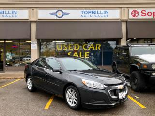Used 2015 Chevrolet Malibu LT, Sunroof, Back Up Cam for sale in Vaughan, ON
