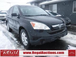 Used 2007 Honda CR-V EXL 4D Utility AWD for sale in Calgary, AB
